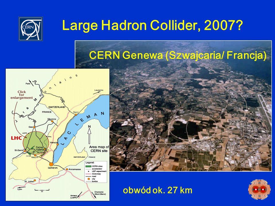 Large Hadron Collider, 2007 CERN Genewa (Szwajcaria/ Francja)