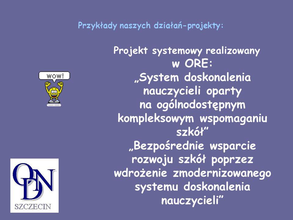 Przykłady naszych działań-projekty: