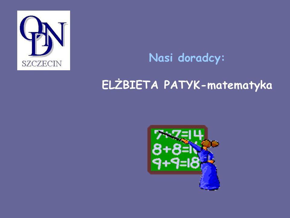 ELŻBIETA PATYK-matematyka
