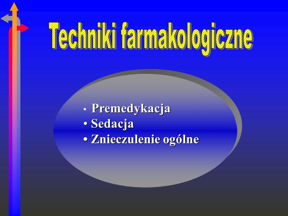 Techniki farmakologiczne