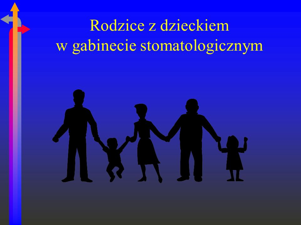 Rodzice z dzieckiem w gabinecie stomatologicznym