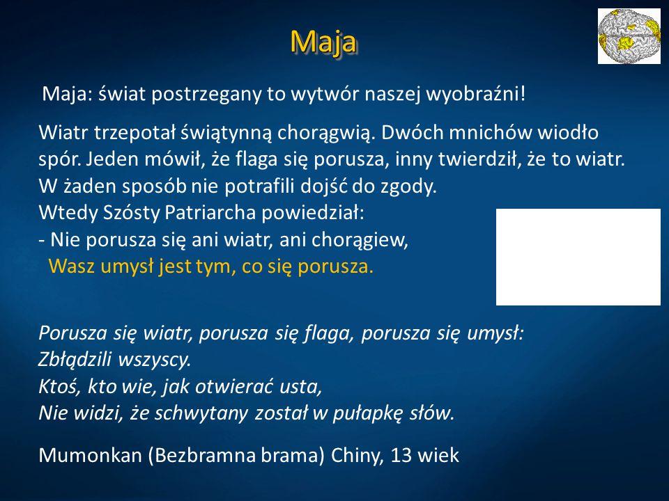 Maja Maja: świat postrzegany to wytwór naszej wyobraźni!