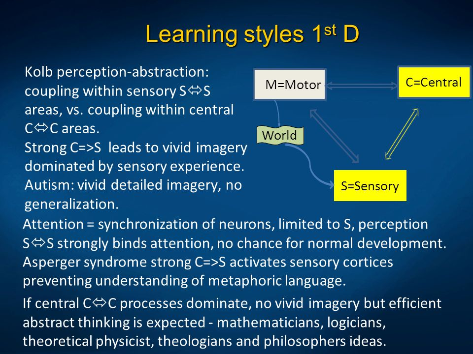Learning styles 1st D