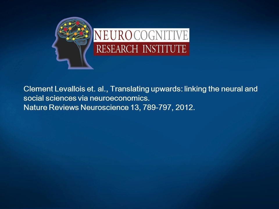 Nature Reviews Neuroscience 13, 789-797, 2012.