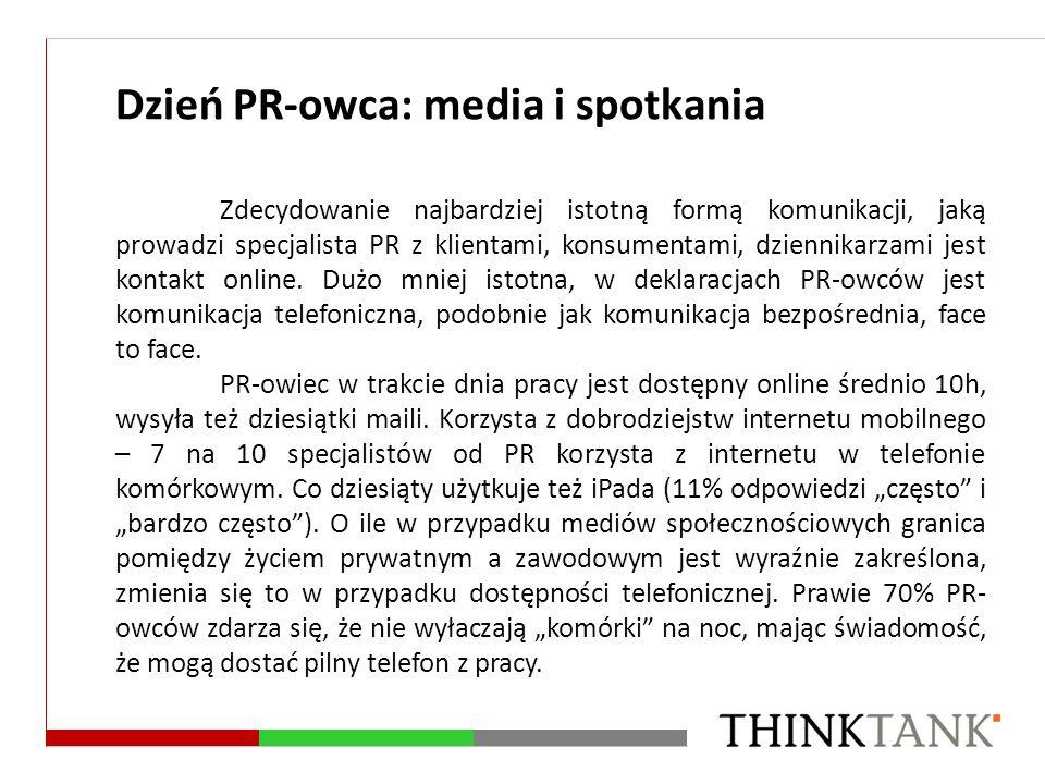Dzień PR-owca: media i spotkania