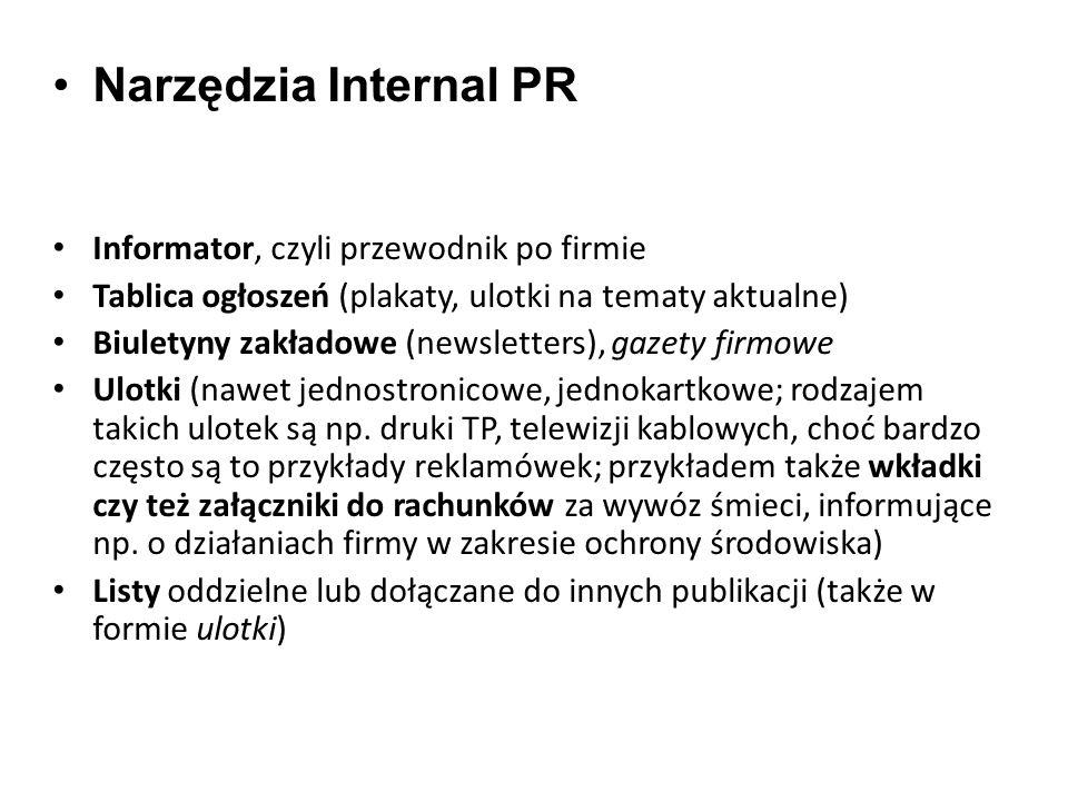 Narzędzia Internal PR Informator, czyli przewodnik po firmie