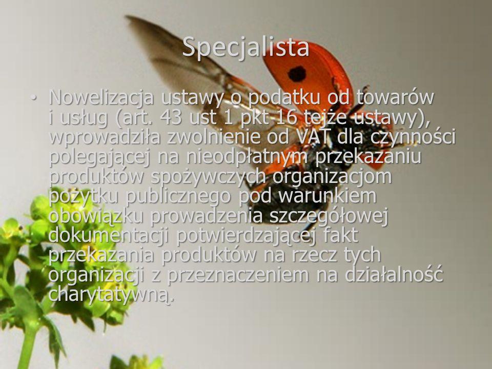 Specjalista