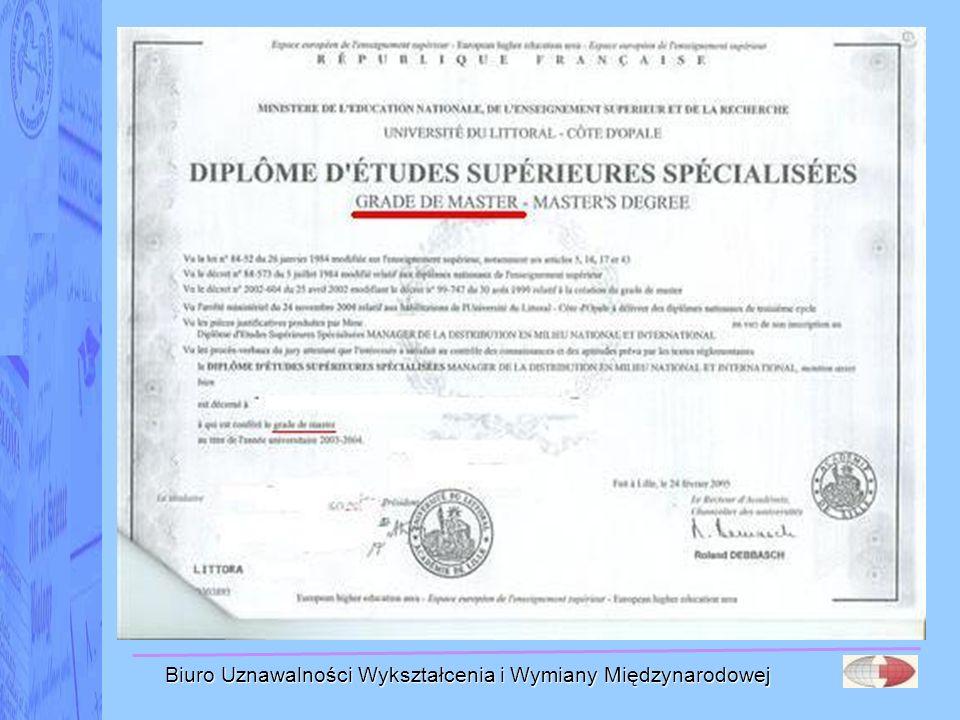 Biuro Uznawalności Wykształcenia i Wymiany Międzynarodowej