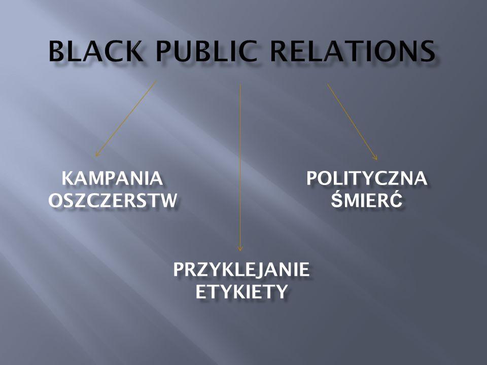 BLACK PUBLIC RELATIONS