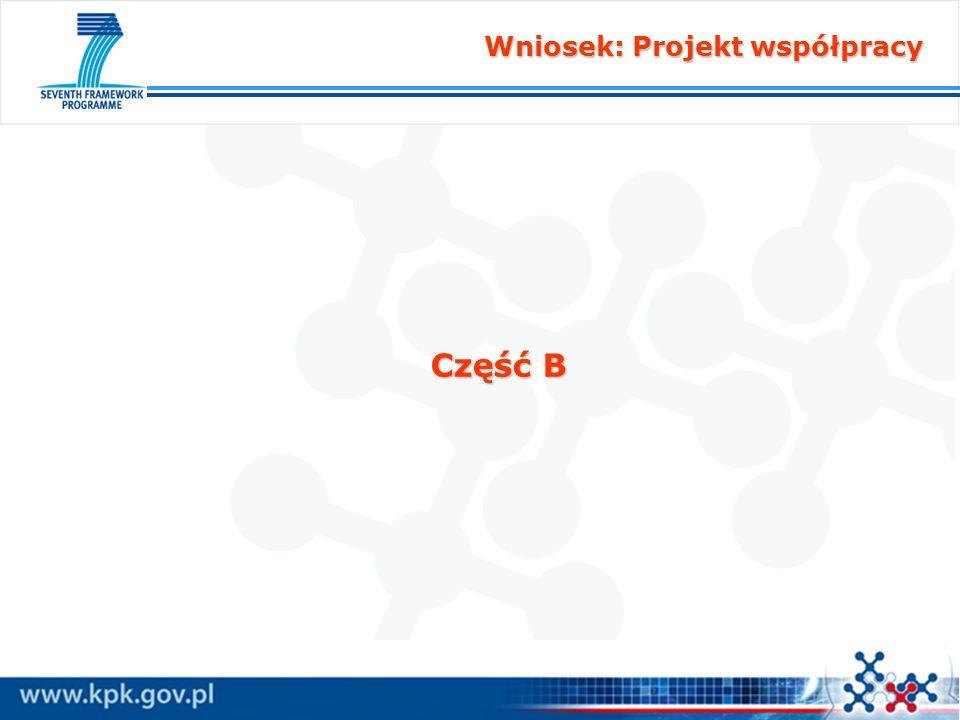 Wniosek: Projekt współpracy