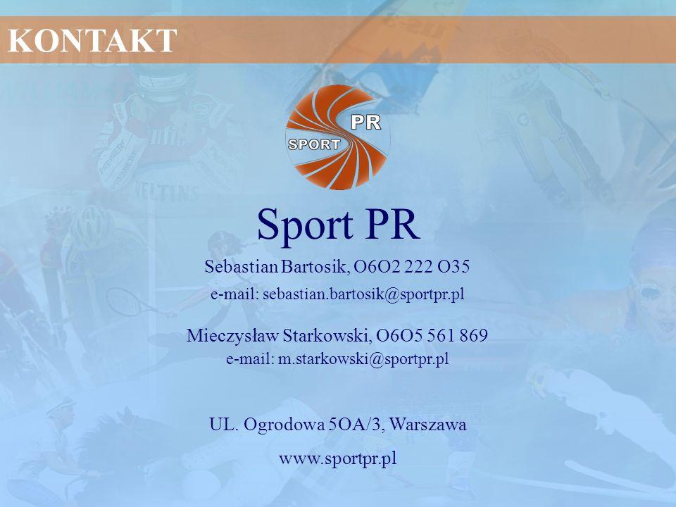 Sport PR KONTAKT Sebastian Bartosik, O6O2 222 O35