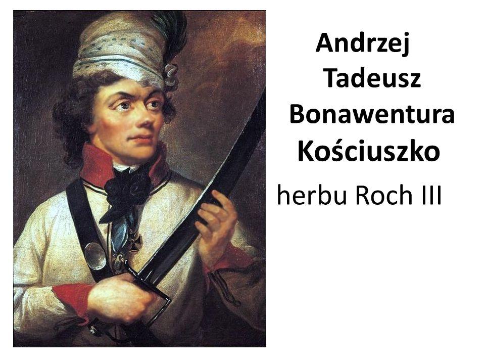 Andrzej Tadeusz Bonawentura Kościuszko