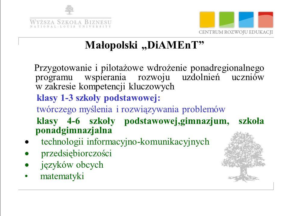 """Małopolski """"DiAMEnT"""