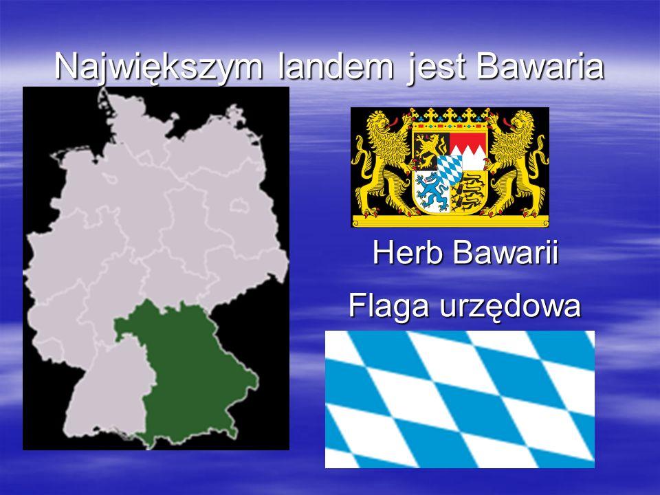 Największym landem jest Bawaria