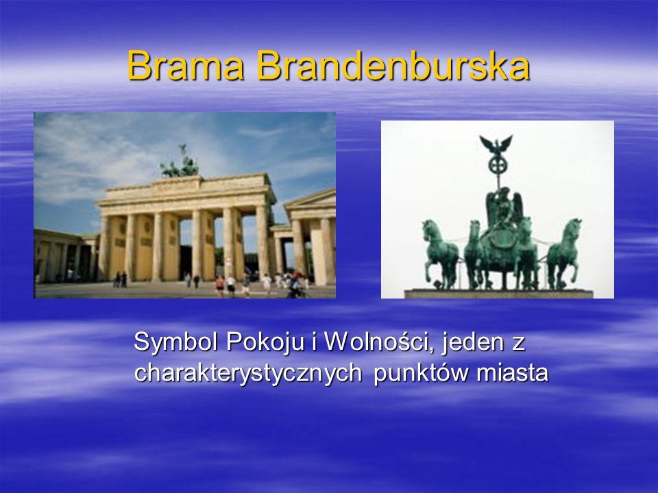 Symbol Pokoju i Wolności, jeden z charakterystycznych punktów miasta