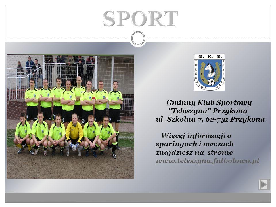 SPORT Gminny Klub Sportowy Teleszyna Przykona