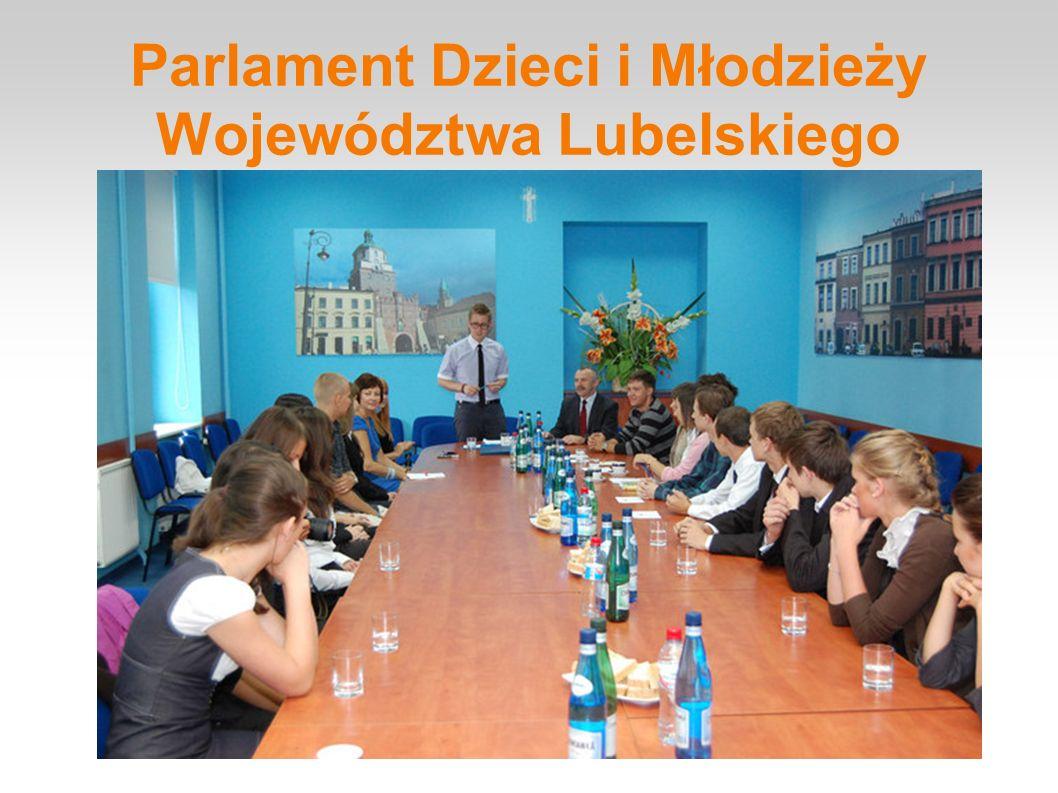 Parlament Dzieci i Młodzieży Województwa Lubelskiego