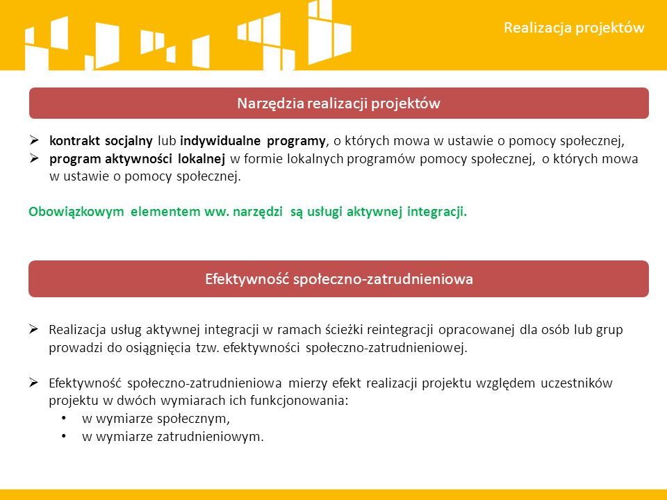 Narzędzia realizacji projektów