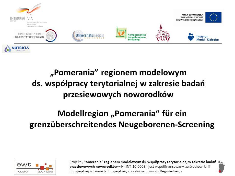 """""""Pomerania regionem modelowym ds"""