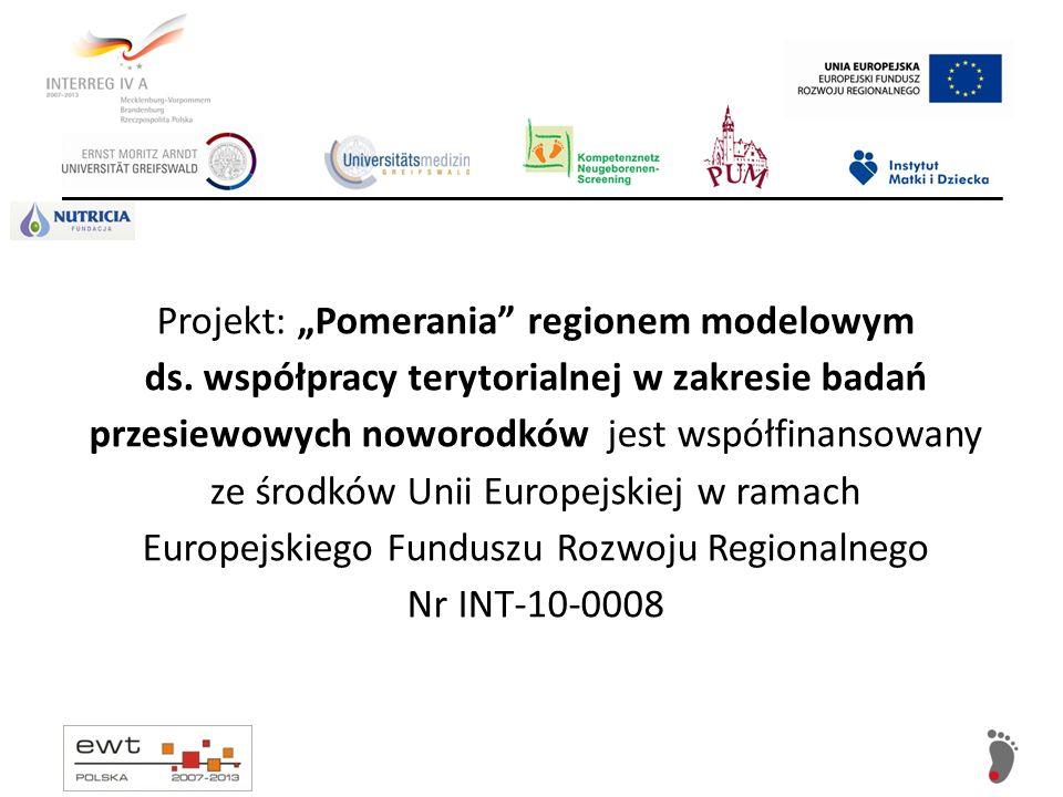 """Projekt: """"Pomerania regionem modelowym ds"""
