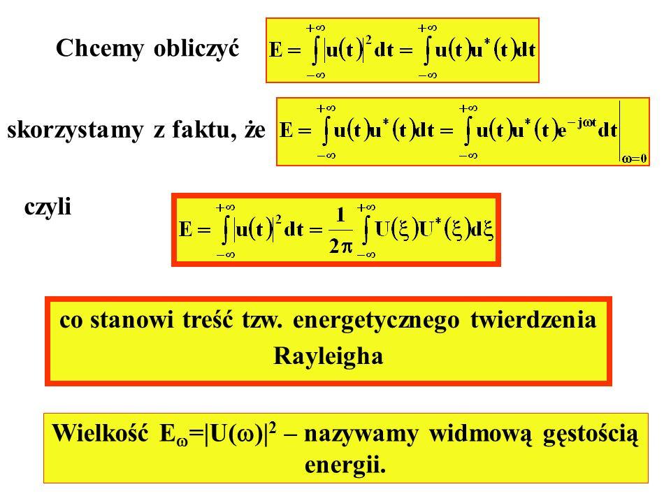 co stanowi treść tzw. energetycznego twierdzenia Rayleigha