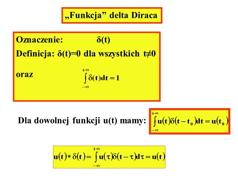"""Funkcja delta Diraca"