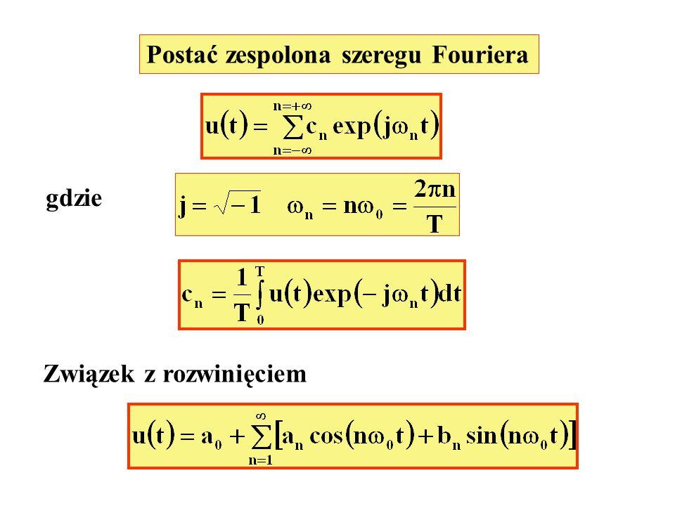 Postać zespolona szeregu Fouriera