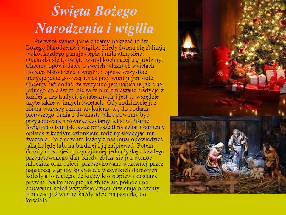 Święta Bożego Narodzenia i wigilia