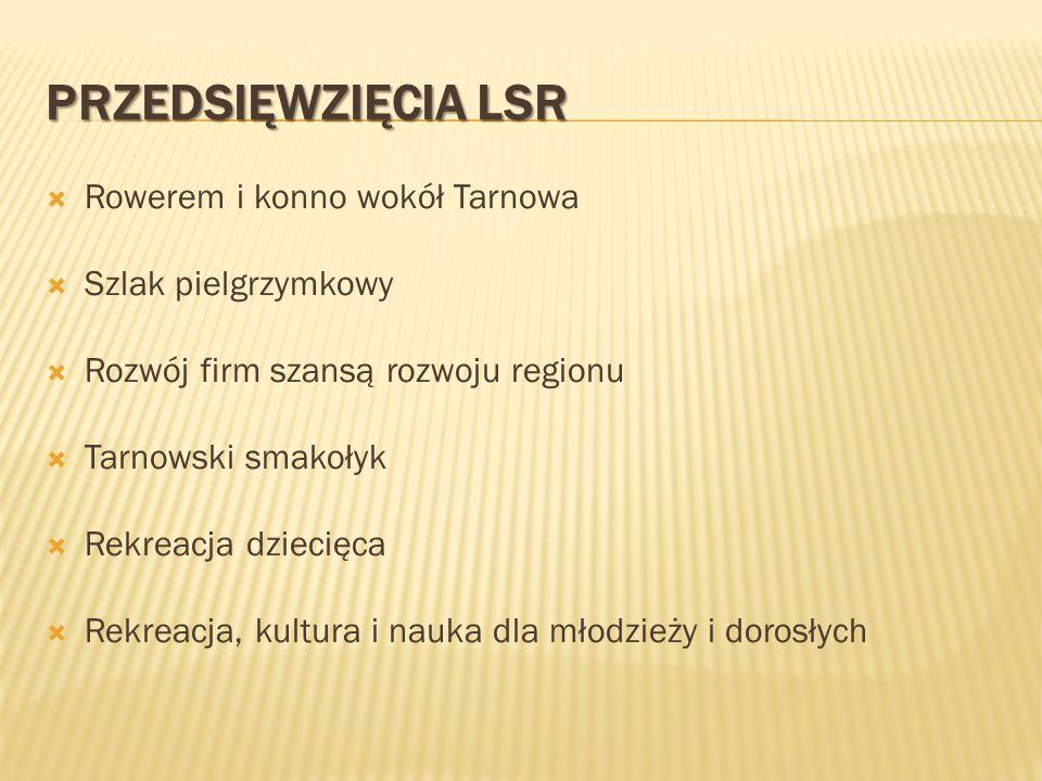 Przedsięwzięcia LSR Rowerem i konno wokół Tarnowa Szlak pielgrzymkowy