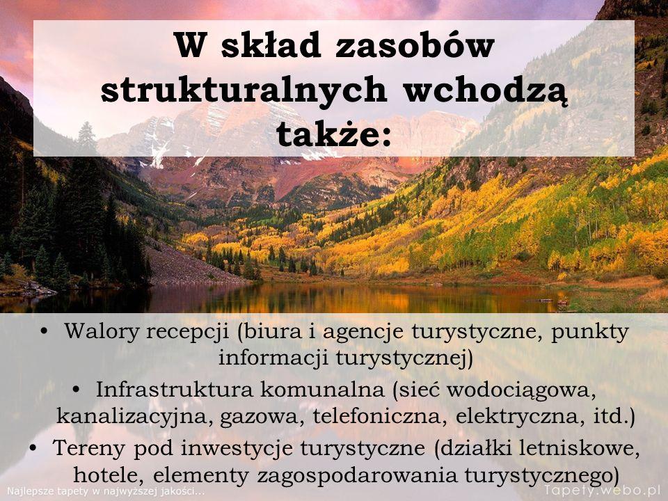 W skład zasobów strukturalnych wchodzą także: