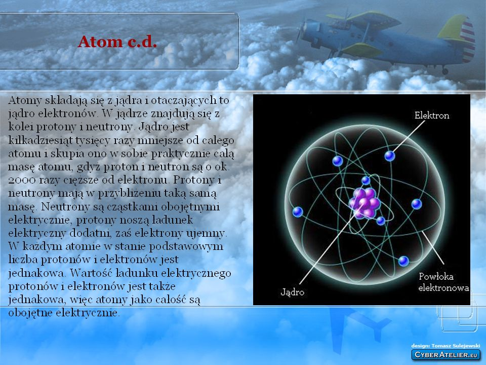 Atom c.d.