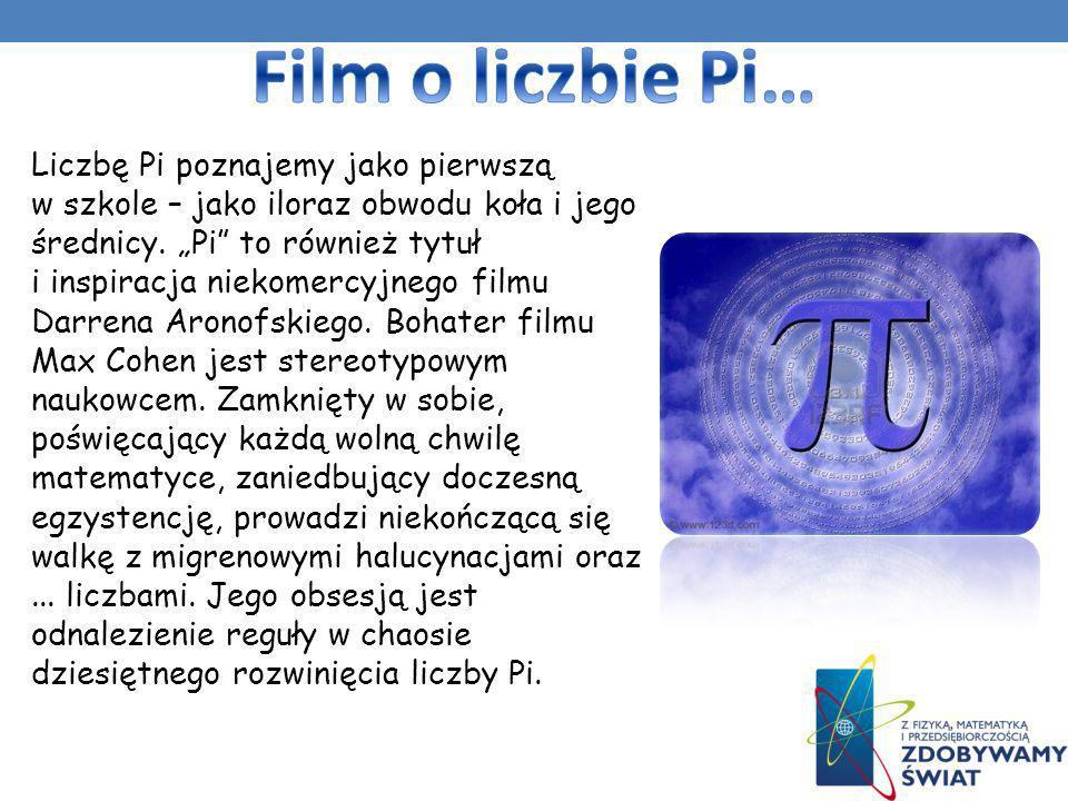 Film o liczbie Pi…