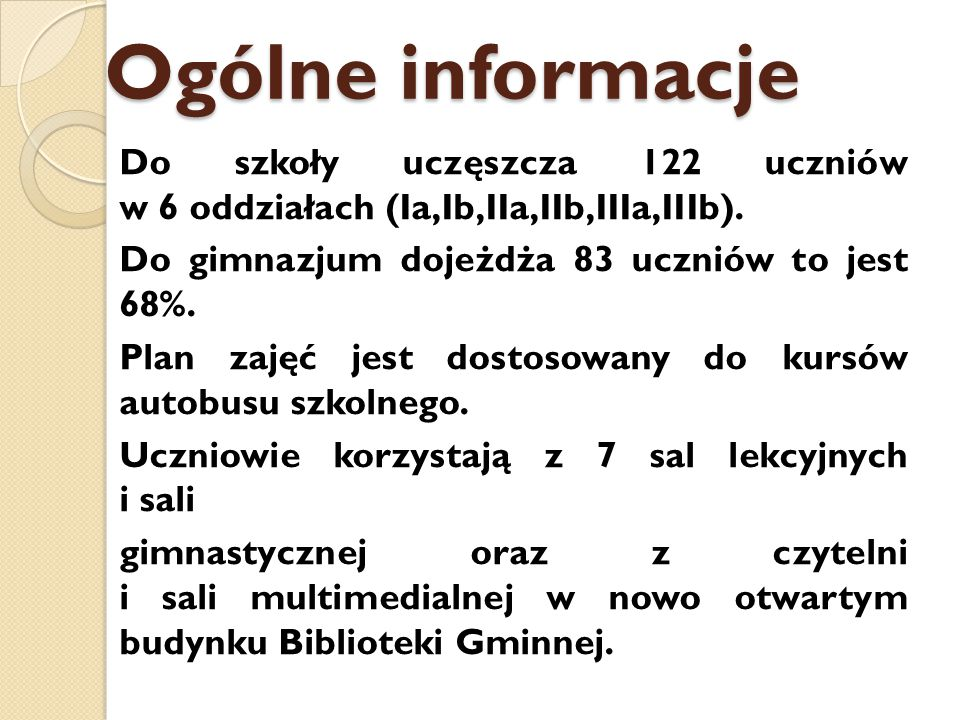 Ogólne informacje