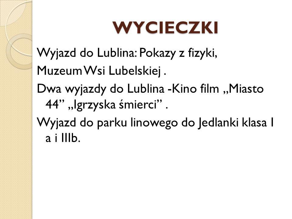 WYCIECZKI Wyjazd do Lublina: Pokazy z fizyki, Muzeum Wsi Lubelskiej .
