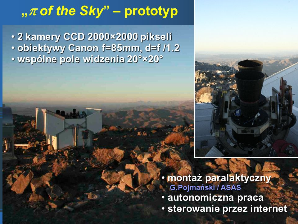 """ of the Sky – prototyp"