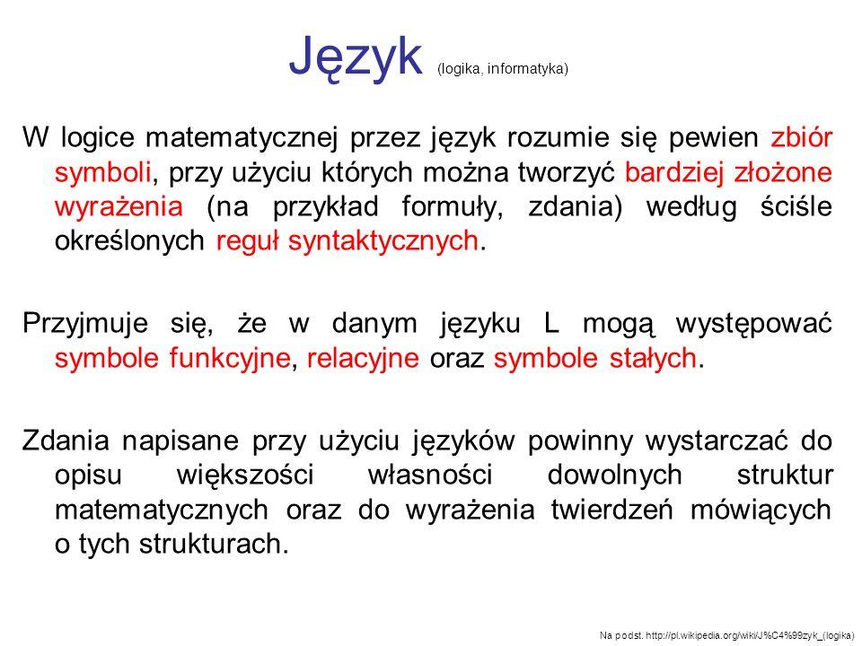 Język (logika, informatyka)