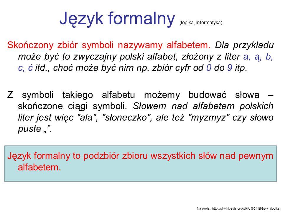 Język formalny (logika, informatyka)