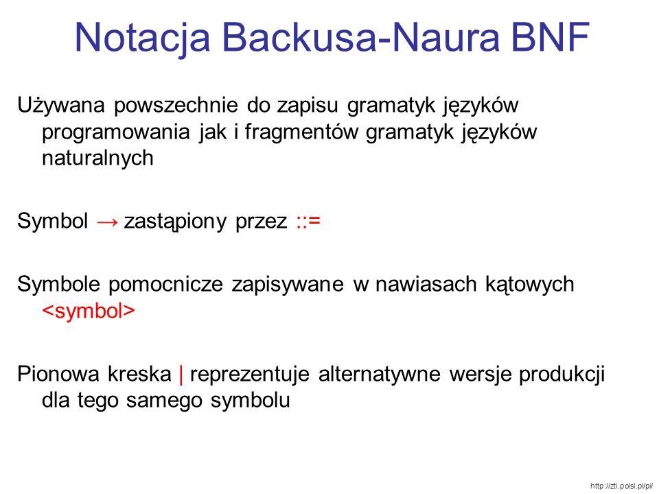 Notacja Backusa-Naura BNF