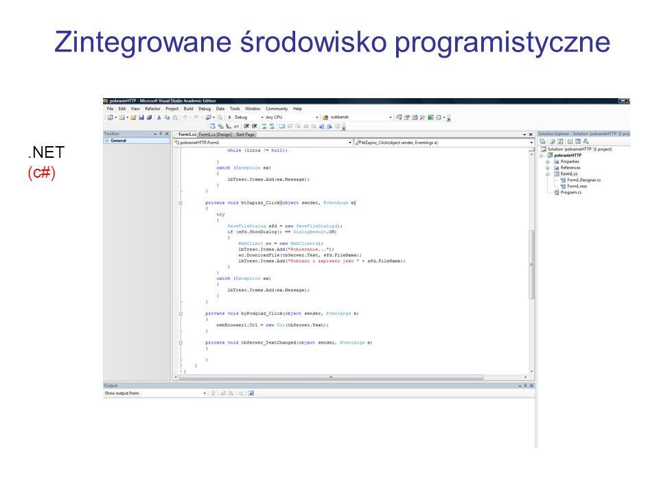 Zintegrowane środowisko programistyczne
