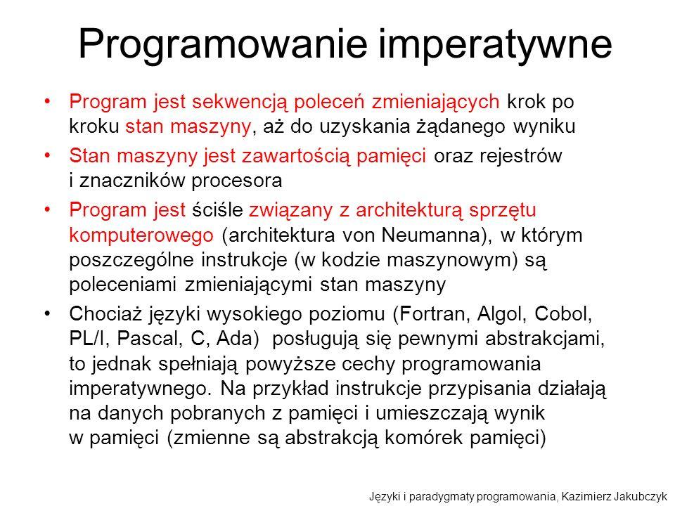 Programowanie imperatywne