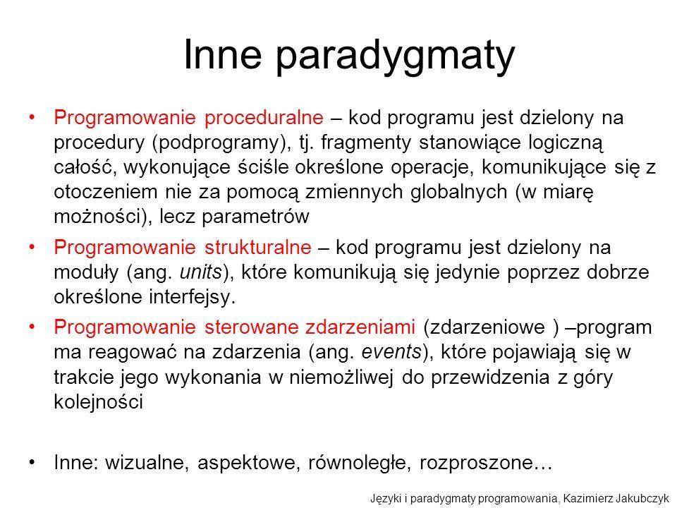 Inne paradygmaty
