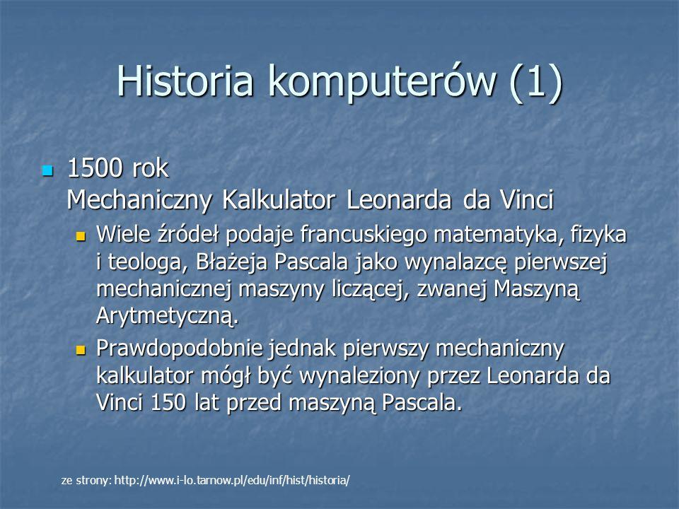 Historia komputerów (1)