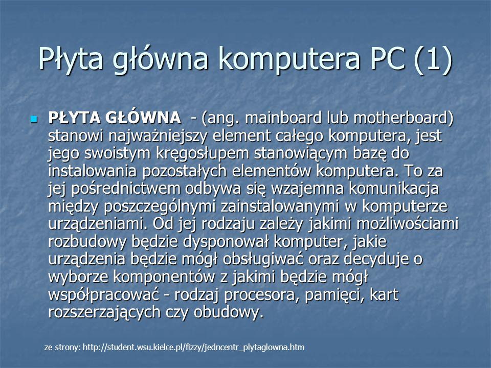 Płyta główna komputera PC (1)