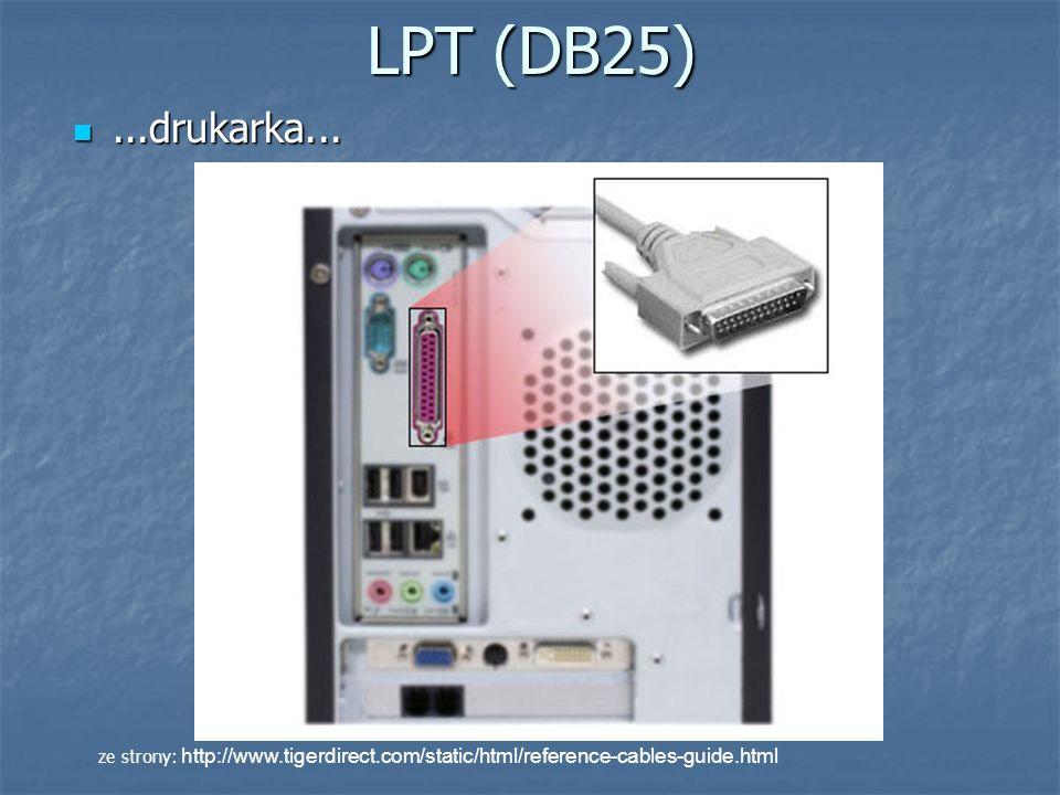 LPT (DB25) ...drukarka...