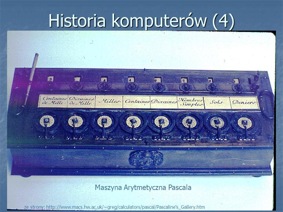 Historia komputerów (4)
