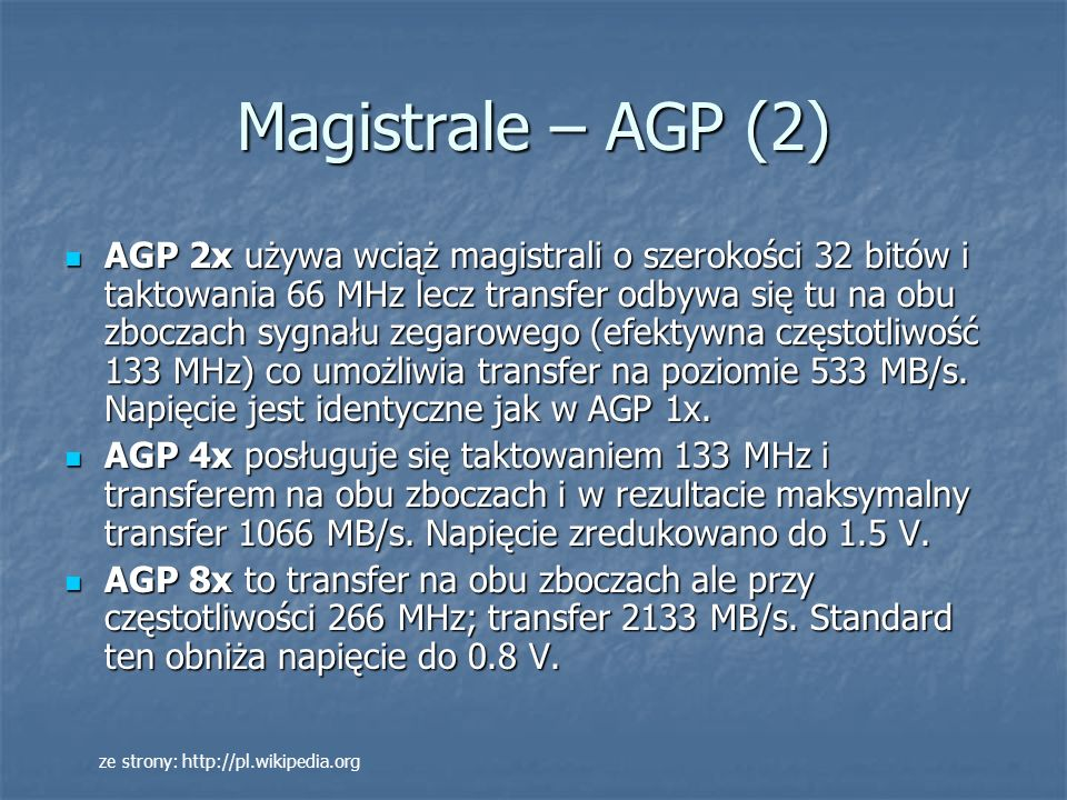 Magistrale – AGP (2)