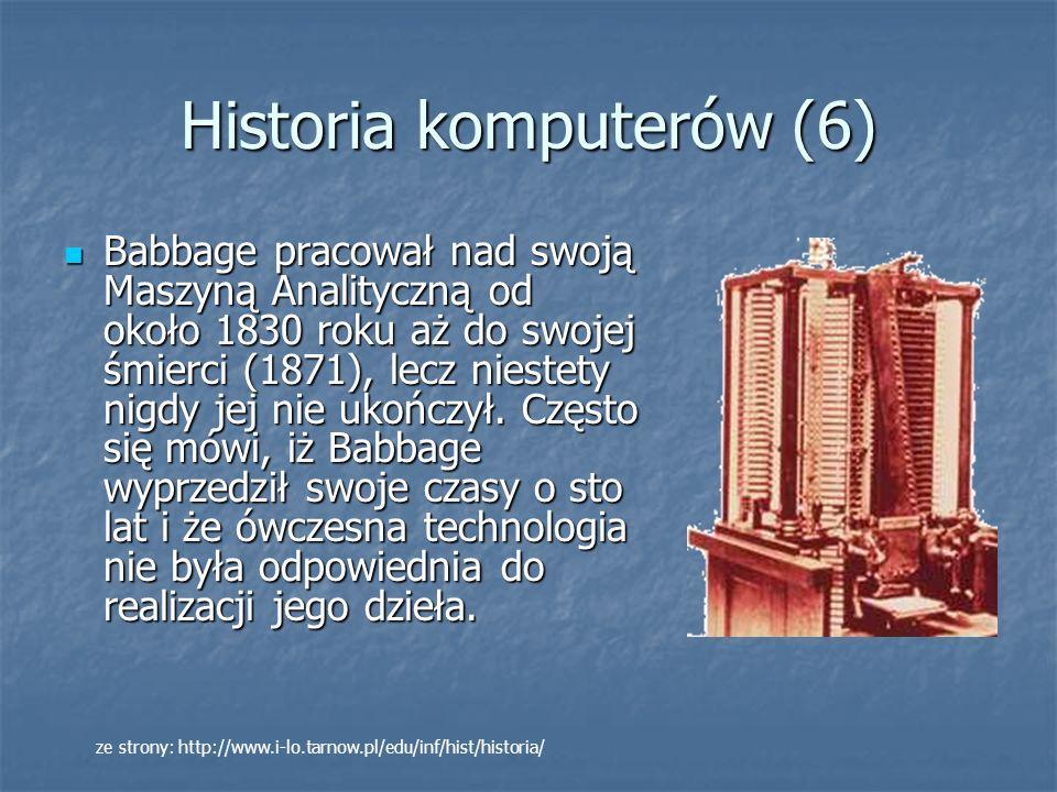 Historia komputerów (6)