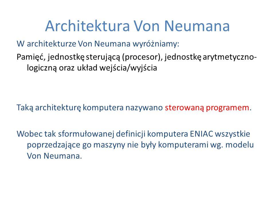 Architektura Von Neumana