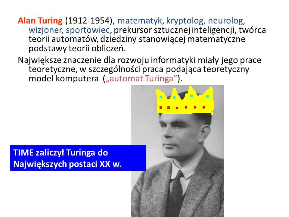 TIME zaliczył Turinga do Największych postaci XX w.