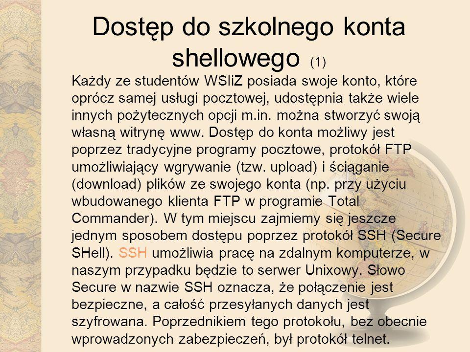 Dostęp do szkolnego konta shellowego (1)